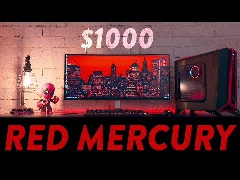 Build The Best $1000 Ryzen Gaming PC! (April 2017)