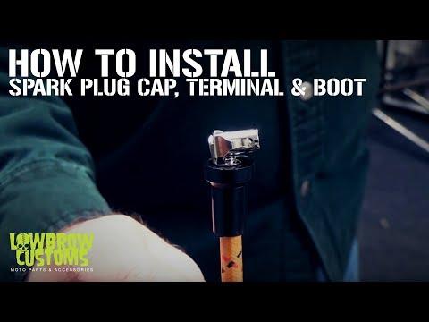 DIY Tech Tip: Motorcycle Spark Plug Cap, Terminal & Boot Install from Lowbrow Customs