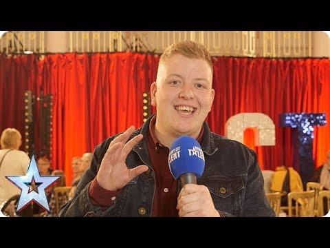 Quickfire questions with GOLDEN BUZZER act  Gruffydd Wyn Roberts | BGT 2018