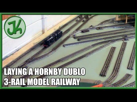 Laying a Hornby Dublo 3-Rail Model Railway