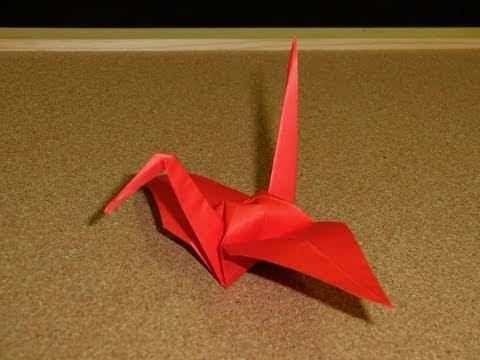 How to Make a Traditional Origami Crane