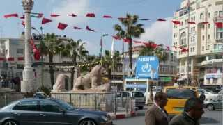 Ramallah - a city in the west bank (Palestinian territory)
