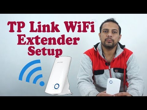 How To Setup Tp Link Wifi Extender (WiFi Repeater Or WiFi Booster)