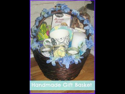 how to make an easy wedding gift basket/ DIY gift baskets