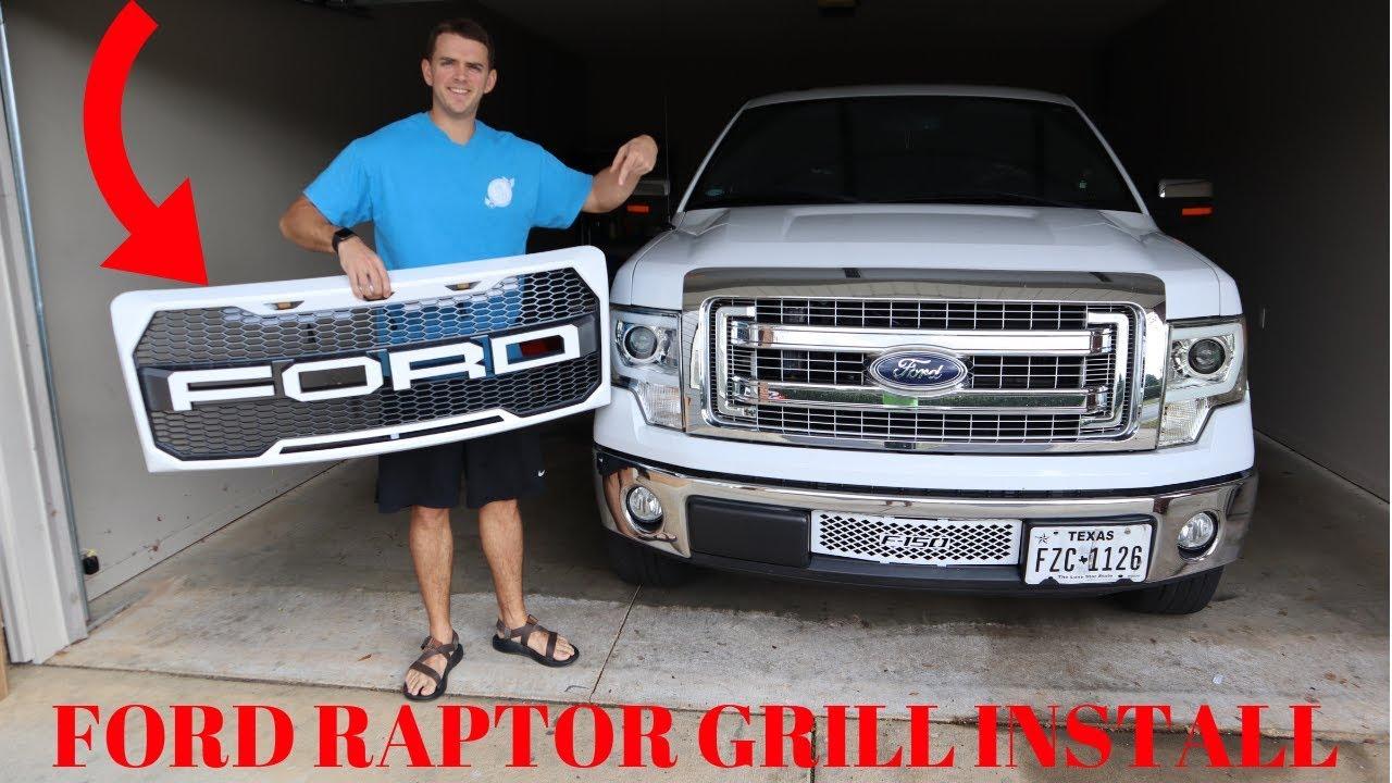 2009-2014 F-150 Raptor Grill Install