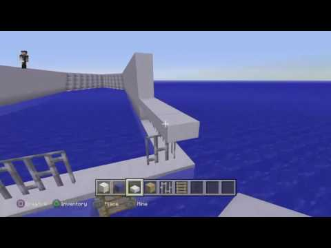 Minecraft, How to build a Gta yacht part 1