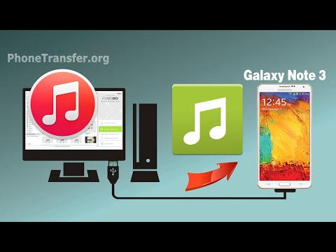 [iTunes to Samsung Note 3]: How to Sync Music & Playlist from iTunes to Samsung Galaxy Note 3