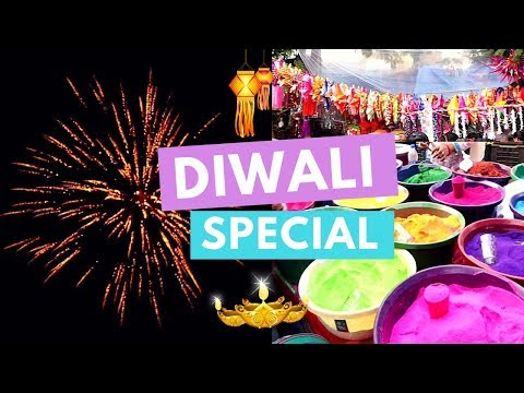 Making Rangoli, Watching Fireworks & Unboxing Gifts! Diwali Special   #DhwanisDiary