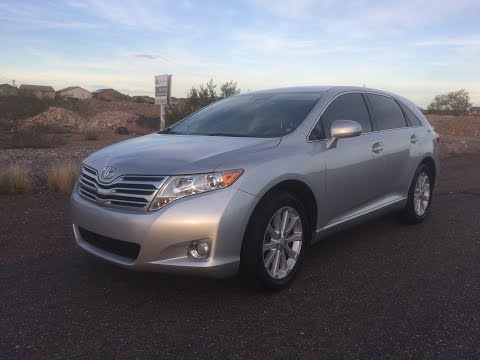 2010 Toyota Venza Review and Test Drive