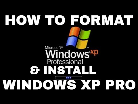 Windows XP Formatting and Clean Installation