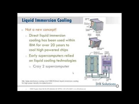 Improved Efficiency Reliability for Servers Using Immersion Cooling Technology