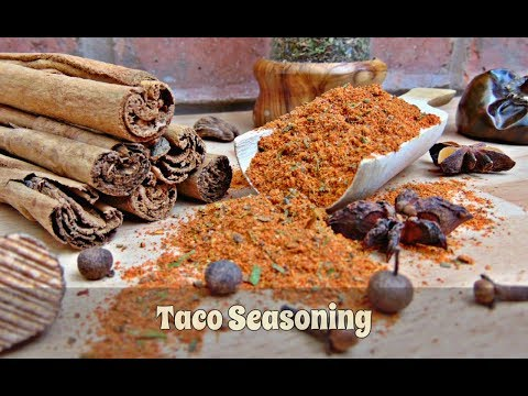 How to Make Taco Seasoning - Fabulous Flavours For Your Homemade Tacos | Episode 113