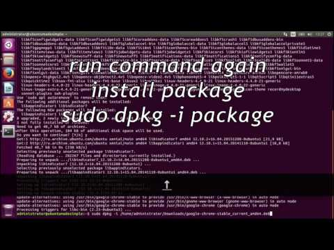 Install and Remove deb packages in Ubuntu 16.04