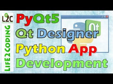 Create Python GUI Application using PyQt5 Designer with Python 3.6.3