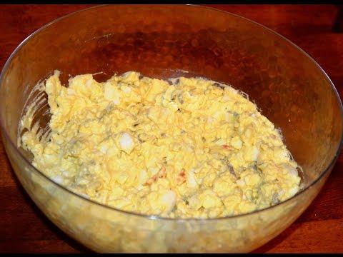 Egg Salad - Easy Recipe for Making Homemade Egg Salad.  Love Egg Salad Sandwiches!!