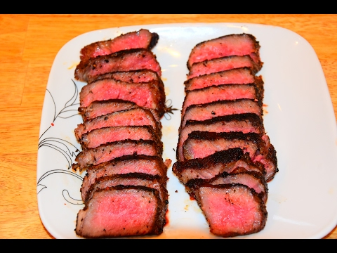 How To Cook A Steak - Pan Seared Steak - Cast Iron Skillet