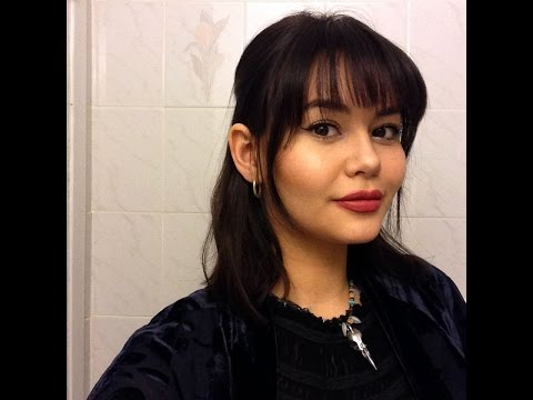 DIY Straight Across Bangs