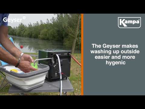 Kampa  Get To Know    Geyser Hot Water System