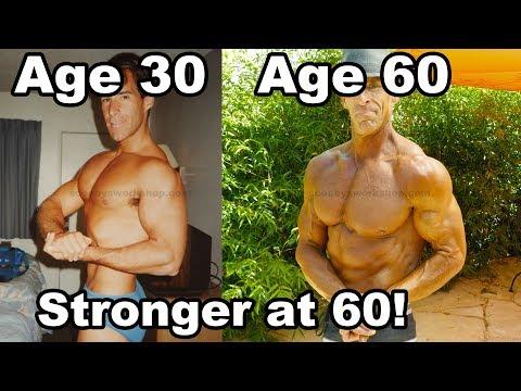 Stronger at age 60 than at 30!