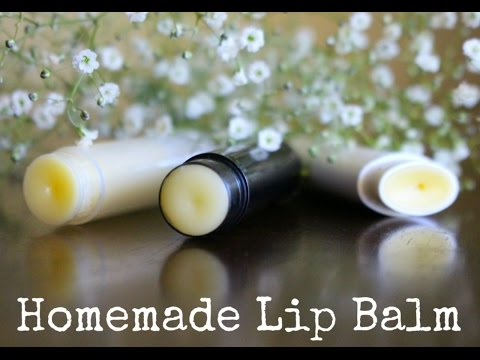 2 Ingredient Homemade Lip Balm / Easy Chapstick Recipe by The Squishy Monster