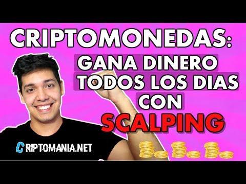 SCALPING CRIPTOMONEDAS!! - TECNICAS [DE TRADING] PARA GANAR DINERO (2018)