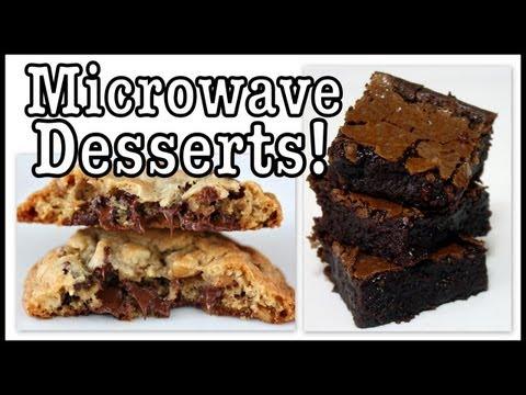 DIY: Microwave Brownie & Choc. Chip Cookie in a Mug!