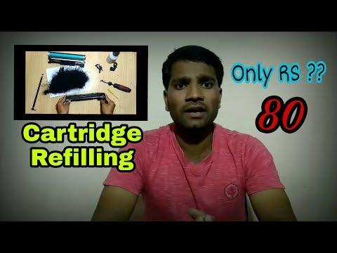88A, 78A, 36A & 925 Cartridge Refilling In Hindi