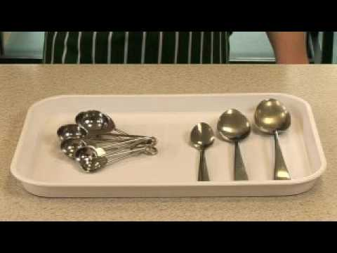 Measuring with spoons