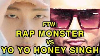 For The Win: Rap Monster vs Yo Yo Honey Singh