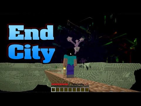 Minecraft: high road to the end city - a journey