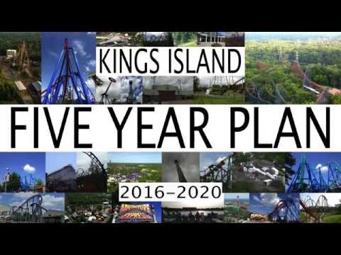 Kings Island 5 Year Plan 2016 - 2020 Future Attractions