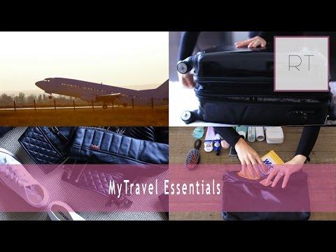 My Travel Essentials + What's In My Suitcase   Rachel Talbott
