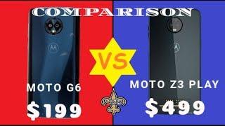 Motorola Moto G6 Vs Motorola Z3 Play Detailed Comparison | Performance, Design, Heat, Screen Test