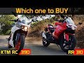 APACHE RR 310 Or KTM RC 390       Which one to BUY