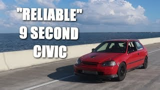 We Drove 4000 Miles In a 9 Second Turbo Civic!