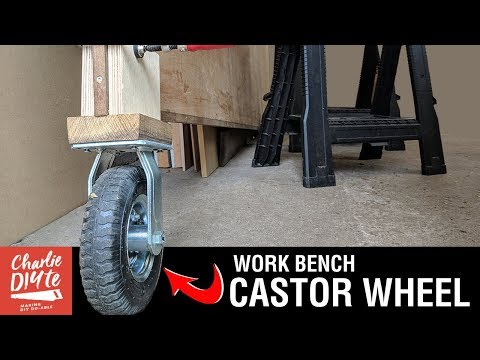 How to Make a Castor Wheel for Folding Work Bench: Episode #2