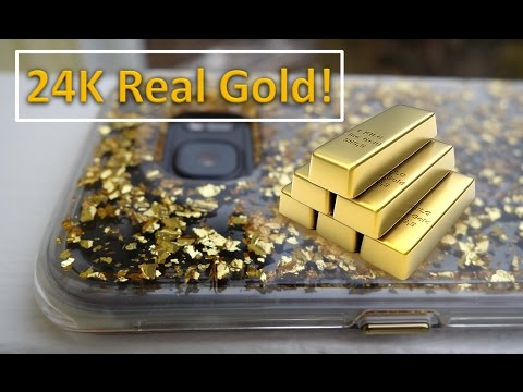 24K Real Genuine Gold Phone Case | But Why?!