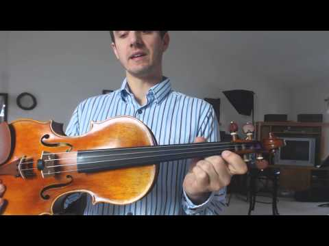 Beginner Violin Scales - Introduction to Flat Scales