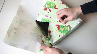 Japan Gift Wrap Hack [No Tape, No Ribbon] | BeatTheBush