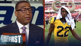 Cris Carter warns Marcus Peters ahead of Rams-Saints