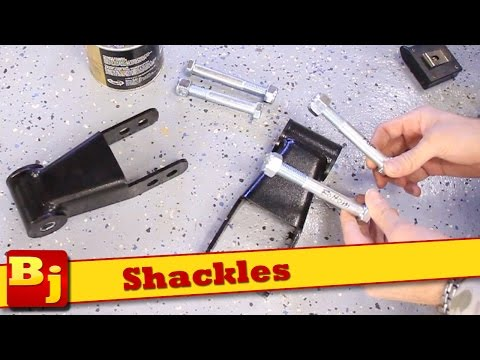 How-To Install Shackles
