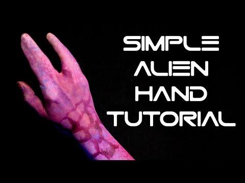Super Easy TMNT / Alien Hand Tutorial