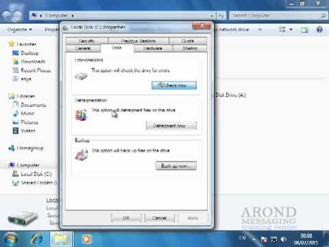 Using Windows 7 - Check Your Hard Drive for Errors