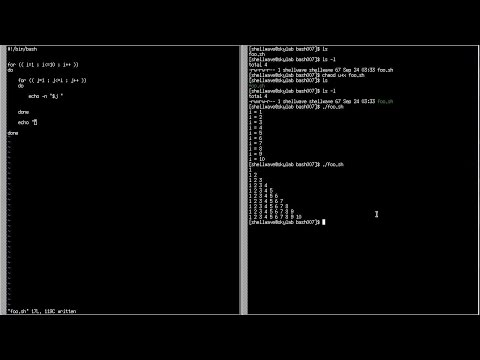 BASH Shell Scripting Tutorial in Linux #007 - for-loop