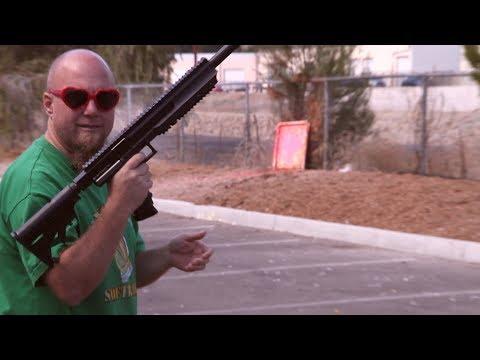 First Strike Tiberius Arms T9.1 Paintball Gun - Shooting