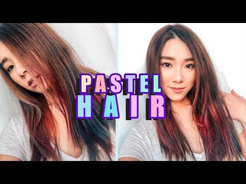 TEMPORARY HAIR COLOR? TRYING OUT L'OREAL COLORISTA HAIR DYE