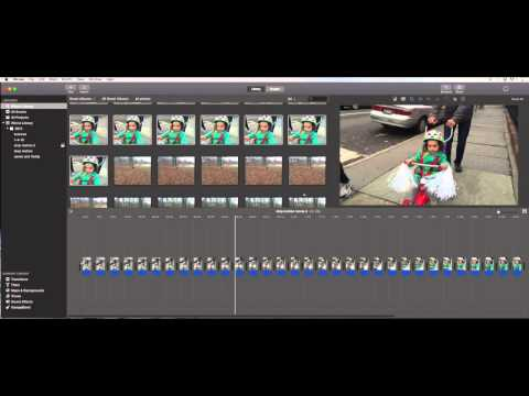 iMovie stop motion tutorial