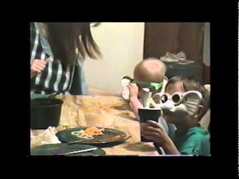 Elephant Masks with Spaghetti