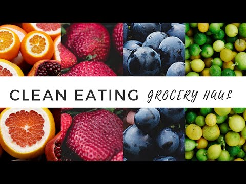 Clean Eating Grocery Haul || Ending the year right