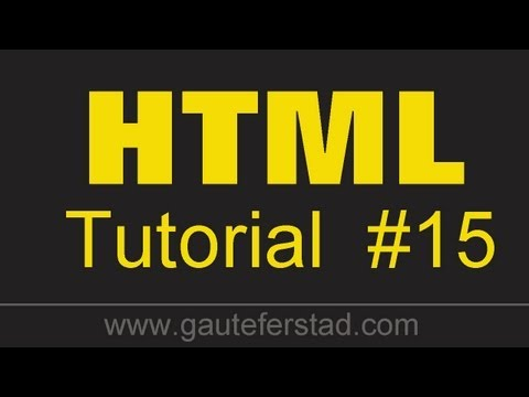 HTML Tutorial 15 Make your Picture a Hyperlink